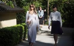 Video: Vợ Trump lần đầu thể hiện vai trò đệ nhất phu nhân