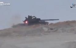 Xe tăng Syria thoát chết khi trúng tên lửa TOW