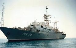 Mỹ phát hiện tàu do thám Nga ngay gần căn cứ tàu ngầm