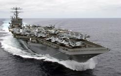 Tàu sân bay Mỹ bắt đầu tuần tra ở Biển Đông