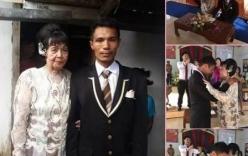 Chàng trai 28 tuổi cưới cụ bà 82 vì