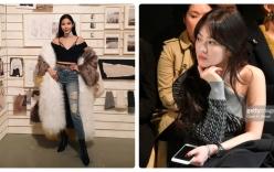Hoàng Thùy, Song Hye Kyo ngồi hàng ghế đầu trong show tại London
