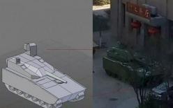 Rò rỉ xe bọc thép lạ trang bị pháo 40mm của Trung Quốc