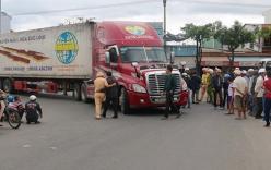 Bị xe container cuốn vào gầm, nữ sinh lớp 8 tử vong