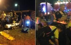 Mỹ: xe tải lao vào đám đông khiến hàng chục người bị thương nặng