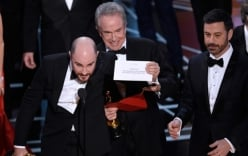 Oscar 2017 công bố nhầm giải lớn nhất như Hoa hậu Hoàn vũ 2015