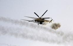 Trực thăng vũ trang Iraq tấn công dữ dội thành trì của IS