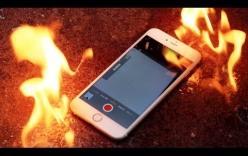 iPhone 6 Plus bốc khói nghi ngút tại cửa hàng điện thoại