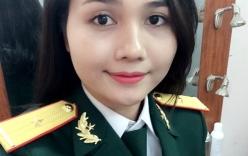 Nữ MC quân đội hát