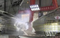 Video: Trung Quốc thử nghiệm cho hai tàu cao tốc lao vào nhau