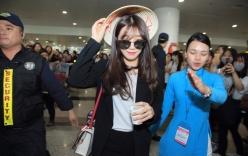 A Pink đội nón lá, SEVENTEEN bị bao vây bởi biển fan Việt tại sân bay Nội Bài