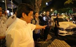 Đậu trước khách sạn New World, xe của người mẫu Cao Thùy Linh bị quận 1 cẩu về đồn