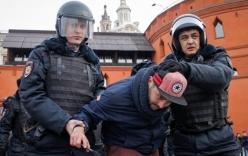 Biểu tình lớn nhất tại Nga trong 5 năm qua, hàng trăm người bị bắt