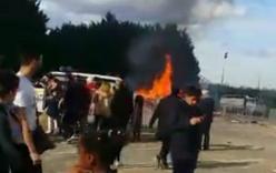 Pháp: Nổ lớn tại hội chợ, hàng chục người bị thương
