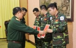 3 sĩ quan gìn giữ hòa bình LHQ sang Trung Phi làm nhiệm vụ