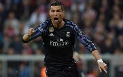 Giải cứu Real, Ronaldo cán mốc 100 bàn ở Champions League