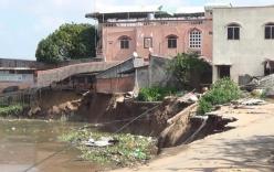 Nóng: Sạt lở sông Vàm Nao, An Giang ban bố tình trạng khẩn cấp