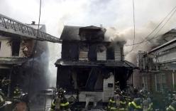 Thi thể 2 cha con ôm nhau trong căn nhà cháy