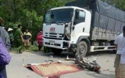 Đấu đầu với xe tải ở tốc độ cao, 2 nam thanh niên chết thảm