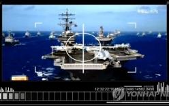 Triều Tiên tung video mô phỏng tấn công Nhà Trắng, tàu sân bay Mỹ