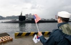 Triều Tiên dọa nhấn chìm tàu ngầm hạt nhân của Mỹ
