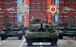 Những hình ảnh ấn tượng nhất trong lễ duyệt binh của Nga