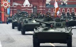 10.000 binh sĩ cùng khí tài quân sự tối tân Nga duyệt binh mừng Ngày chiến thắng