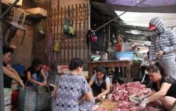 Chị bán thịt lợn bị hắt dầu luyn lên tiếng về việc bị cấm bán hàng