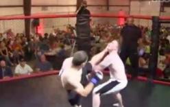Võ sĩ MMA tung \