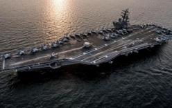 Tàu sân bay Mỹ điều đến gần Triều Tiên đang