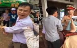 Giám đốc doanh nghiệp gây tai nạn còn dọa nạt, hành hung CSGT