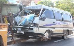 Xe khách tông đuôi xe tải, một người tử vong