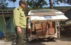 Quảng Nam: Làm rõ vụ xe biển xanh chở gỗ lậu
