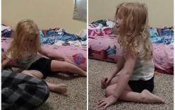 Bé gái bị liệt chỉ vì một vết cắn của chó