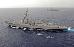 Trung Quốc lớn tiếng đòi tàu chiến Mỹ phải rời khỏi Biển Đông