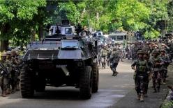Chùm ảnh: Quân đội Philippines tấn công phiến quân thân IS ở Marawi
