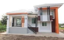 Ngôi nhà cấp 4 kiểu Thái tại Nghệ An thu hút sự quan tâm của nhiều chủ xây dựng
