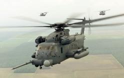Trực thăng hạng nặng MH-53 bị hư hỏng nặng khi hạ cánh kiểu