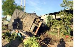Tin TNGT mới nhất ngày 30/5: Xe sơmi rơmoóc  đâm sập 3 ngôi nhà, 1 người tử vong