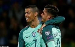 """Sau Champions League, Ronaldo lại """"thành thần"""" ở VL World Cup"""