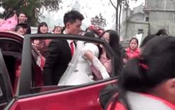 Sự thật không ngờ sau video cô dâu bị chú rể lôi kéo thô bạo khỏi xe hoa