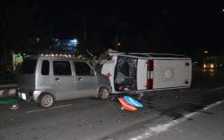 Xe cấp cứu gây tai nạn, người đi bộ tử vong tại chỗ