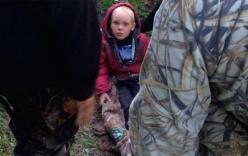 Bé trai sống sót kỳ diệu sau 4 ngày lạc trong rừng