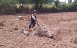 Phát hiện mới tại khu vực nghi lăng mộ vợ vua Tự Đức bị ủi làm bãi đậu xe