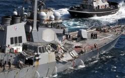 5 thủy thủ Mỹ tử vong lập tức ngay khi tàu chiến bị tàu hàng đâm?