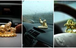Treo gì trong xe để yên tâm và gặp may mắn?