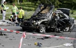 Đại tá tình báo Ukraine thiệt mạng vì bị cài bom trong xe riêng