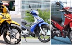 5 mẫu xe số, giá rẻ được tìm mua nhiều nhất tại Việt Nam