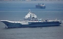 Đài Loan tố tàu sân bay Trung Quốc đi vào vùng nhận dạng phòng không