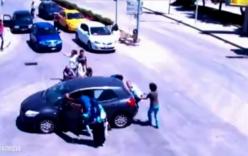 Nữ tài xế gây ra vụ tai nạn khó hiểu nhất hành tinh